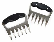 RSVP Meat Shredders Claws BBQ Pork Beef Chicken Stainless Steel Handling Carving