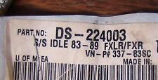 DRAP SPECIALTIES DS224003 STAINLESS STEEL IDLE CABLE 337-83SC FXLR/FXR  NOS OEM