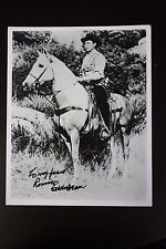Eddie Dean HAND SIGNED AUTOGRAPH PHOTO American western singer and actor