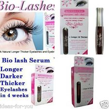 BIO LASHES SERUM GROW EYELASH EYEBROW HAIR RAPID LIQUID GINSENG SERUM GROWTH
