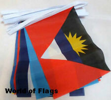 CARIBBEAN NATIONS BUNTING 9m 30 Different Flags World Olympic Country Flag