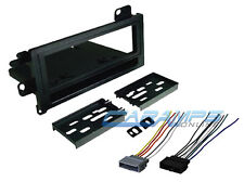 ★ CAR STEREO RADIO KIT DASH INSTALLATION MOUNTING TRIM BEZEL W/ WIRING HARNESS ★
