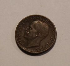10 centesimi Italia Italy Italien 1924 Victor Emanuell III (B8)