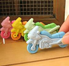 1Pcs Removable Motorcycle Eraser Rubber Pencil Stationery Child Gift Toy
