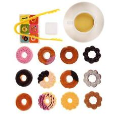 Kids Donuts Stack Up Play Educational Toy Baby Simulation Cookies Christmas Gift