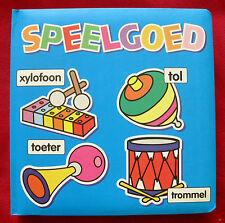 Kartonboek Speelgoed - prentenboek