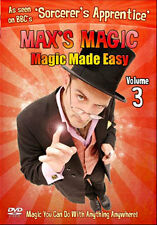 DVD:MAXS MAGIC VOL 3 - NEW Region 2 UK