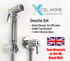 Shattaf Set Bidet Brass Douche Spray Chrome Hygienic Toilet Shower Head Muslim