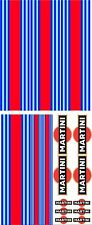 MARTINI Decals Le Mans RALLY CAR STRIPES & LOGO DECALS VINYLS STICKERS Graphics