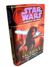 STAR WARS Legacy Of the Force SACRIFICE Hardback novel book with Dustjacket