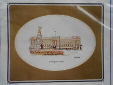 "Heritage Collection Stamed Cross Stitch Kit BUCKINGHAM PALACE 27Ct. 8""x6"" Neutra"