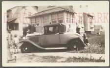 Vintage Car Photo 1930 1931 Buick Wreck in Yard 765228