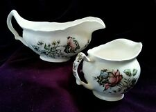 JOHNSON BROTHERS DAY IN JUNE Multicolor Gravy Boat Creamer, England