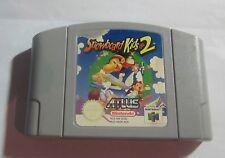 N64 Game Snowboard Kids 2 Rare Nintendo
