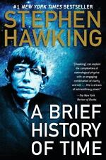 Stephen Hawking A BRIEF HISTORY OF TIME large paperback book