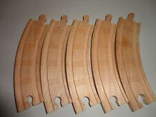Genuine Thomas Train Wooden Track Parts Lot