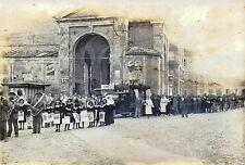Lugo di Ravenna fotografia con processione banda orchestra matrimonio funerale ?