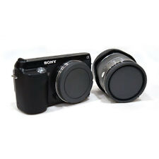 Rear Lens Cap + Camera Front Body Cover for Sony E-Mount NEX-3 NEX-5 Fashion New