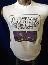 Vintage Shoe Comic Strip MacNelly I'll Have What The Floor Is Having T Shirt S