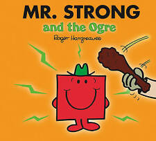 NEW sparkly MR STRONG and the OGRE (BUY 5 GET 1 FREE book) Little Miss Men