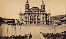 2 Photos MONACO c. 1880 - Le Casino Côte d'Azur Méditerranée