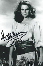 Kathleen Turner signed autograph Romancing the Stone Movie Actor Rare COA LOOK!!