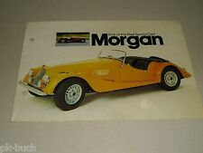 Auto Werbung Prospekt Morgan Sports Cars 4/4 + Plus 8