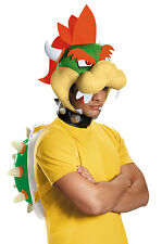 Brand New Super Mario Brothers Bowser Adult Costume Kit