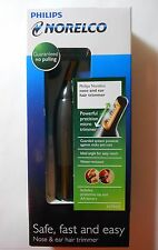 NEW Philips Norelco Nose & Ear Precision Micro Washable Battery Hair Trimmer