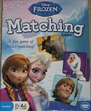 Disney FROZEN Memory Matching Game NEW Factory Sealed Free Priority Shipping !