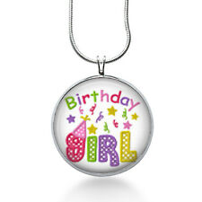 Birthday Girl Necklace, Holiday Pendant, celebrate ,gifts for women,jewelry
