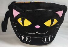 Flipeez Super Fun Halloween Trick or Treat Baskets That Come Alive Cat's Face