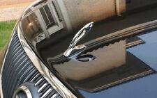 Car VIP V I P Trunk Badge Emblem Hood Sticker Metal Silver