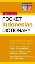 Pocket Indonesian Dictionary: Indonesian-English English-Indonesian Periplus Po