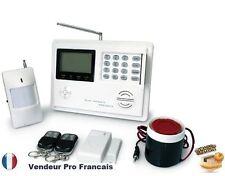 Alarme Maison Sans Fil Téléphonique GSM/PSTN Temporisation Téléphone Smartphone