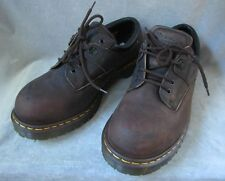 Dr. Martens INDUSTRIAL SHOES OXFORDS Steel Toe Air Wair Safety Mens Size 10 NWOB