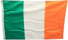 Ireland St Patricks Flag Deluxe 4ft x 2.5ft Football/Rugby Events By Woodside