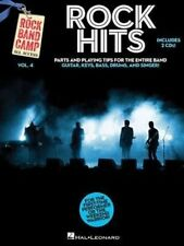 Rock Hits Band Camp Vol.4 Guitar Bass Drums Singer Tab Book 2 Cds NEW! 50% OFF