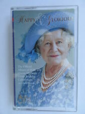Queen Mother 100th Birthday Celebration Music Cassette Tape Happy & Glorious