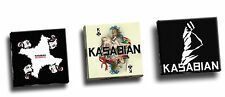 Kasabian Collection Of 3 8x8 Canvas Prints