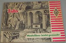"""Faller 841 D """"Modellbau leicht gemacht"""",  DIN A6 Querformat"""