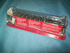 "Snap-on™ 1/4"" drive 3/16"" thru 9/16"" 10-pc 6pt SEMIDEEP Socket 110TMSY NEW"