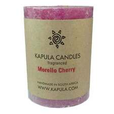 Cherry Scented Pillar Candle - Handmade in South Africa - Fair Trade
