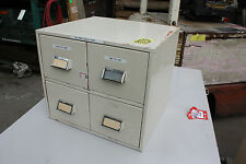Funky retro 4 drawer file tool paint art studio cabinet filing stylish furniture