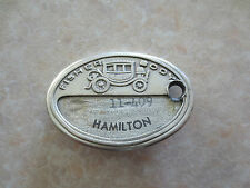 Vintage Fisher Body Hamilton plant Employee badge - General Motors Chevrolet