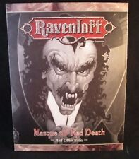 AD&D Ravenloft: Masque of the Red Death: And Other Tales DM Screen