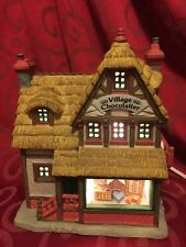LEMAX Christmas Building VILLAGE CHOCOLATIER Caddington Village NO BOX, AS-IS