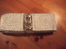 gold CLINCH,WASPIE,ROCK&ROLL,GREASE, 50'S BELT large