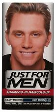 JUST FOR MEN LIGHT BROWN SHAMPOO IN HAIRCOLOR NEW