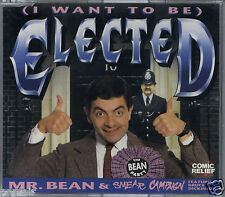 MR BEAN FEATURING BRUCE DICKINSON - (I WANT TO BE) ELECTED 1992 UK CD SINGLE